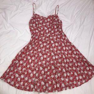 Old Navy Pink Floral Dress